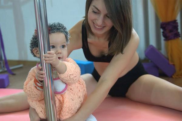 pole dance и материнство-1